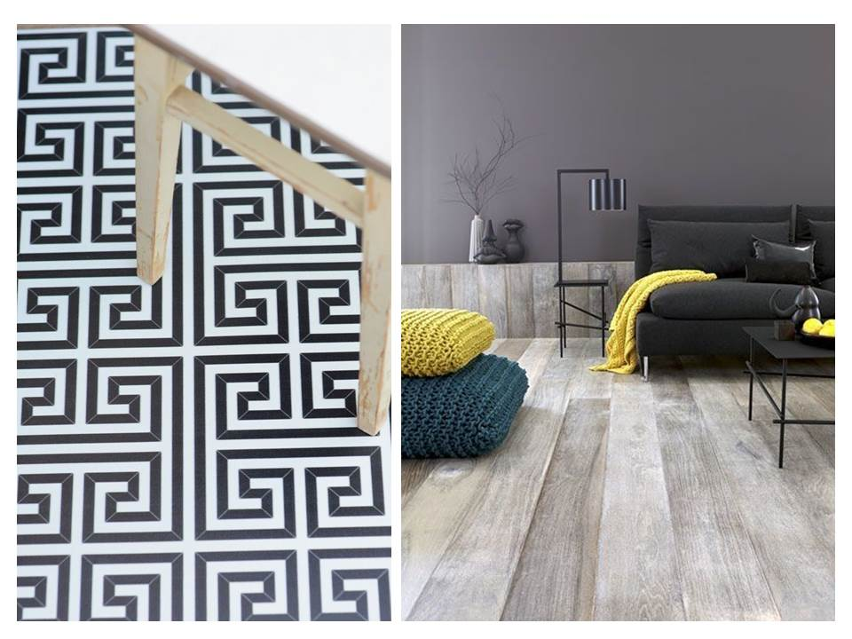 2. Vinyl-floor-tips-ideas-timber-pattern-black-white