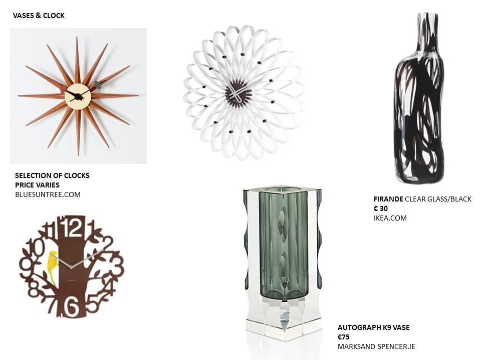 11 feature vases & clocks interiors restless design rented interiors blog