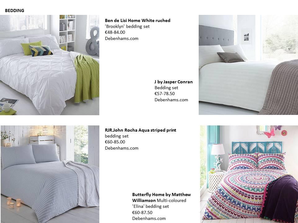18 bedding statement debenhams john rocha ben de lisi condan restless design rented interiors blog