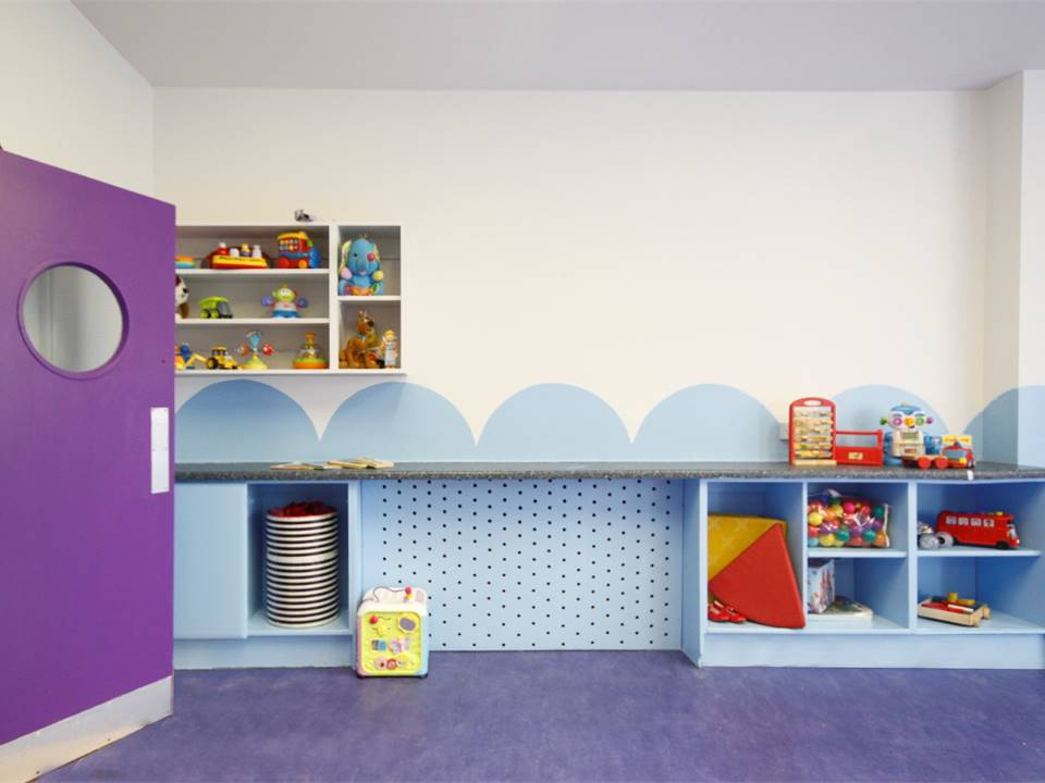 5 Circle Room 2 Restless Design cool playroom colours in interiors colour blocking vibrant interior