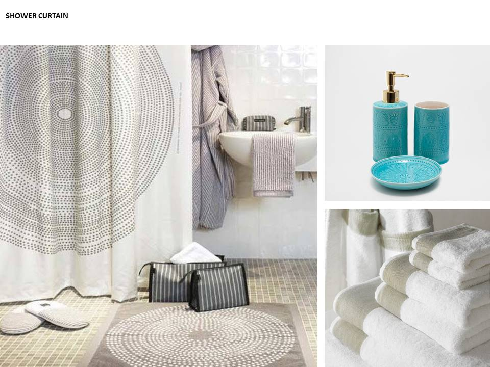 feature shower curtain luxury towels luxury soap interiors restless design blog