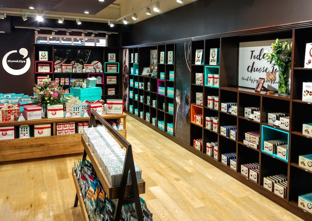 Lily O Brien S Chocolate Store Design Roll Out Restless